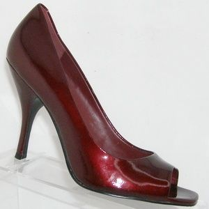BCBGeneration 'Ariel' ruby red patent heels 9B